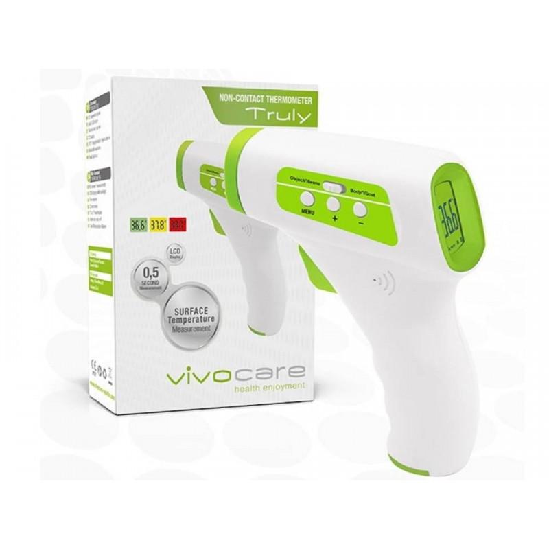 Vivocare Truly Temassız Kızılötesi Alından AteşÖlçer LCD