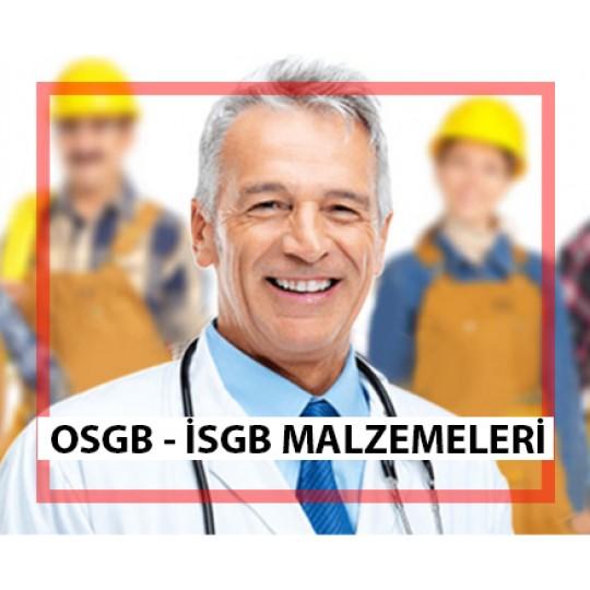 OSGB İSGB Malzemeleri